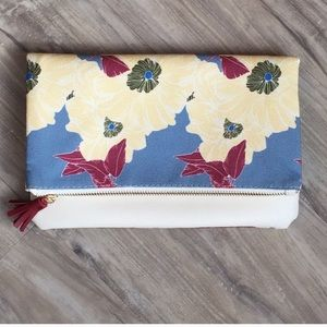 Rachel Pally brand Floral foldable clutch